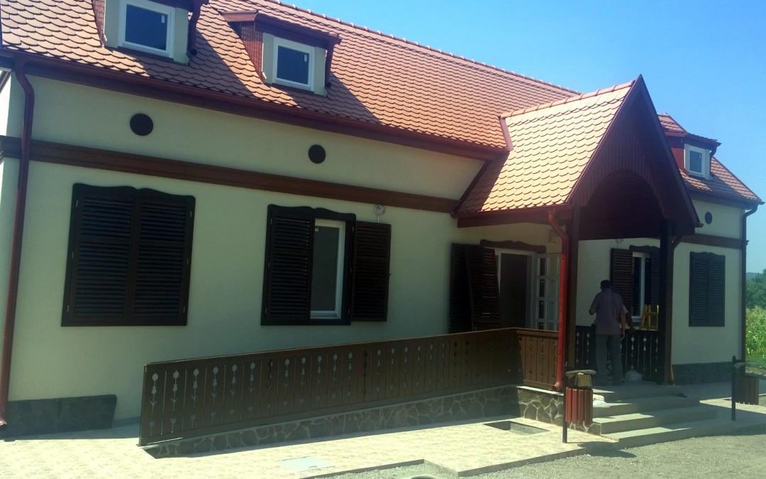 Construire centru local de informare şi promovare turistică în localitatea Gorneşti
