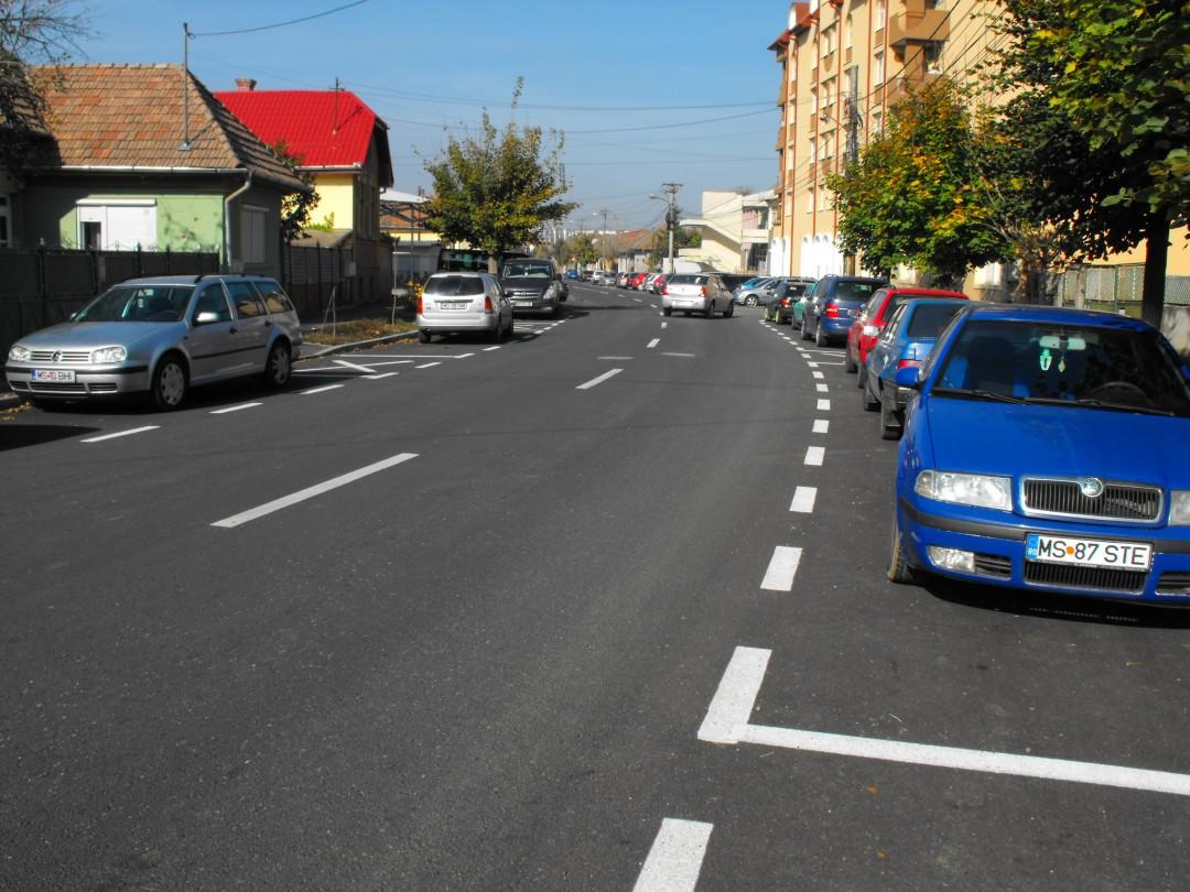 Modernizare reţea stradală la nivelul Municipiului Tîrgu-Mureş – tranşa II