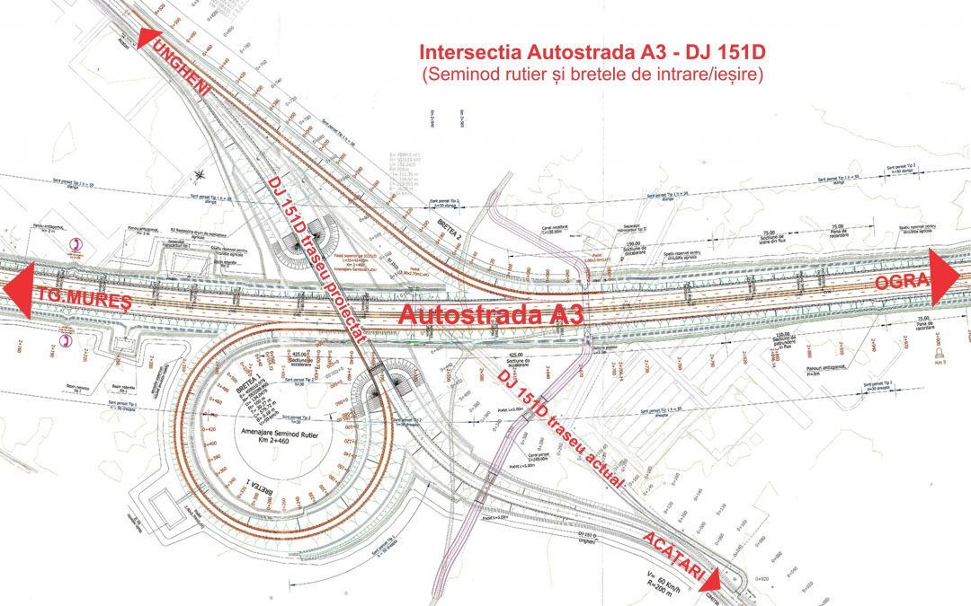 """Servicii de proiectare – faza DALI, pentru lucrarea ,,Reabilitarea sistemului rutier pe drumul județean DJ 151D, Ungheni-Acățari, județul Mureș"""""""